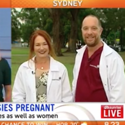 Dr David Knight and Dr Sonya Jessup on Channel 7's Sunrise - 'The IVF specialists who are changing lives'